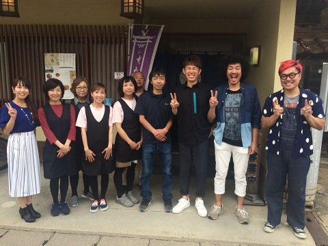 7月16日、地元の放送局BSSで放送の特別番組「はんぱねぇ夏休み」で当店を紹介していただきました。